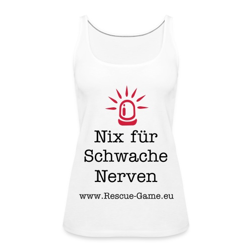 fan shirt - Frauen Premium Tank Top