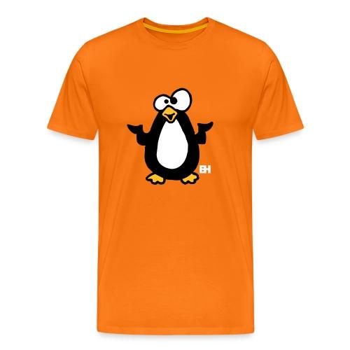 Crazy Pinguin - Mannen Premium T-shirt