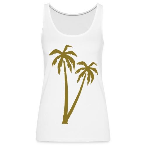 Frauen Shirt Palme - Frauen Premium Tank Top