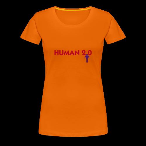 Human 2.0 - T-shirt Premium Femme