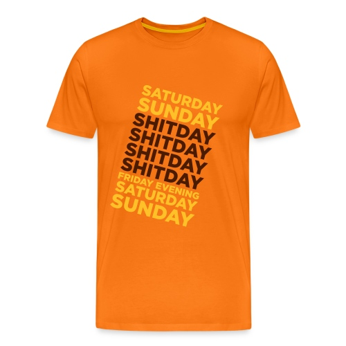 Vive le week-end ! - T-shirt Premium Homme