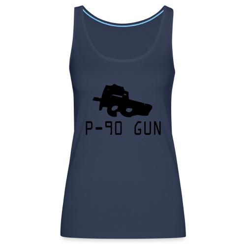 Tank Top Gun - Frauen Premium Tank Top