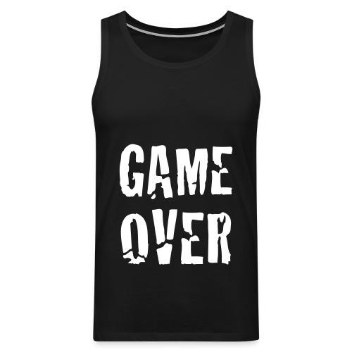 black game over - Men's Premium Tank Top