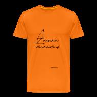 T-Shirts ~ Männer Premium T-Shirt ~ Amrum Windsurfing