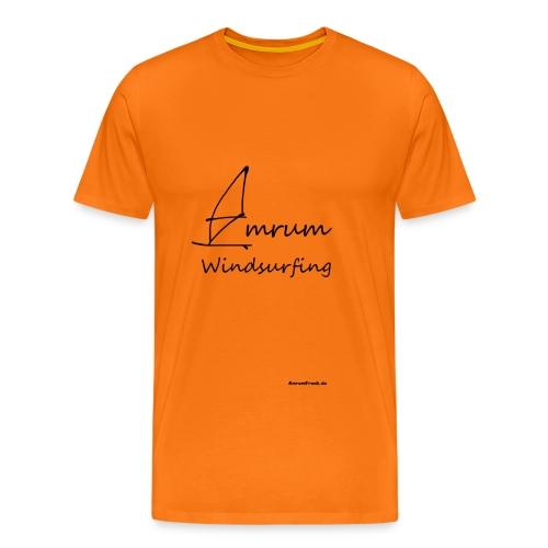Amrum Windsurfing - Männer Premium T-Shirt