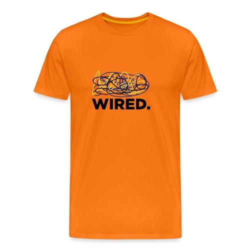 Tshirt geek : wired - T-shirt Premium Homme