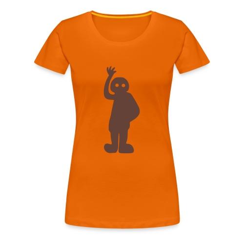 Nazca Astronaut Frauen Girlie T-Shirt - Frauen Premium T-Shirt