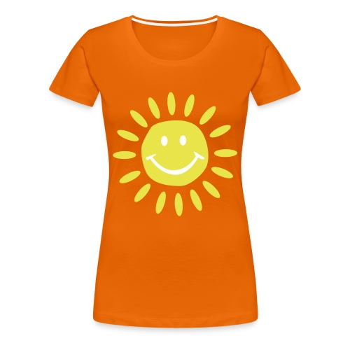 Sunshine orange - Frauen Premium T-Shirt