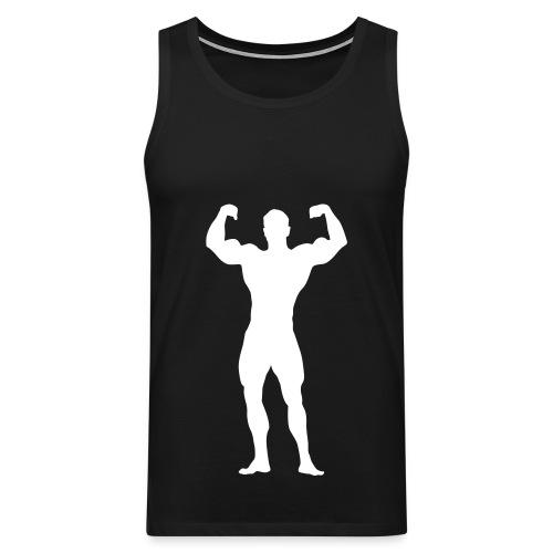 Muskel - Sport Shirt - Männer Premium Tank Top