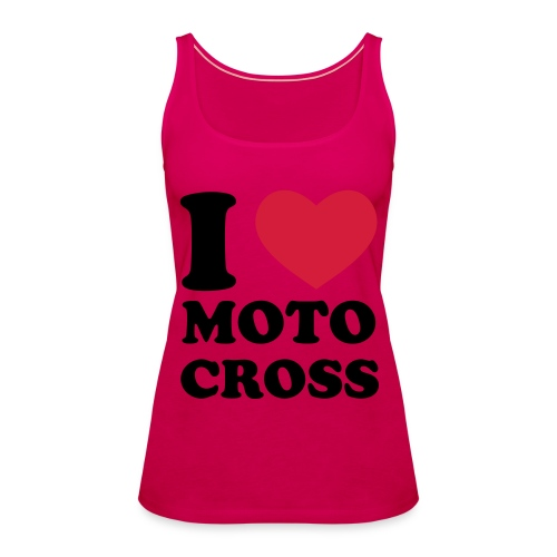 womens motocross t-shirt - Women's Premium Tank Top