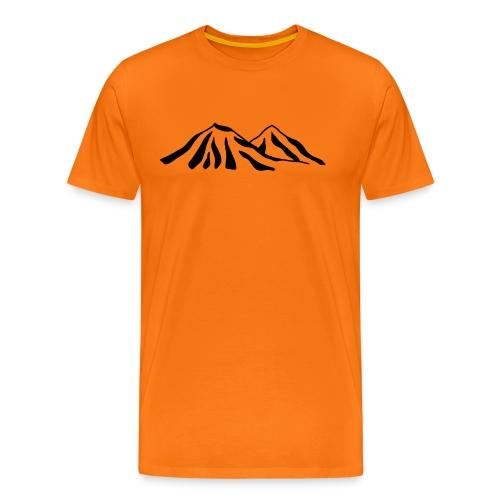 Mountain Range - Men's Premium T-Shirt