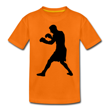 boxer boxing sport Kids' Shirts