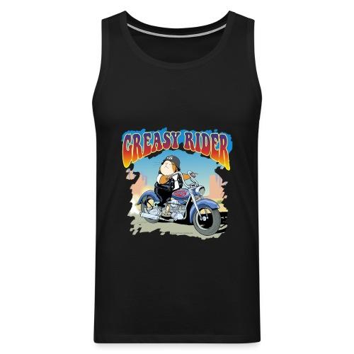 Greasy Rider - Männer Premium Tank Top