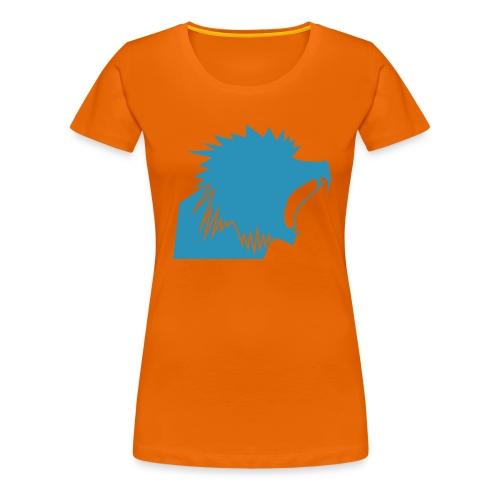 Beast Head (Scheiß Tribüne) - Frauen Premium T-Shirt