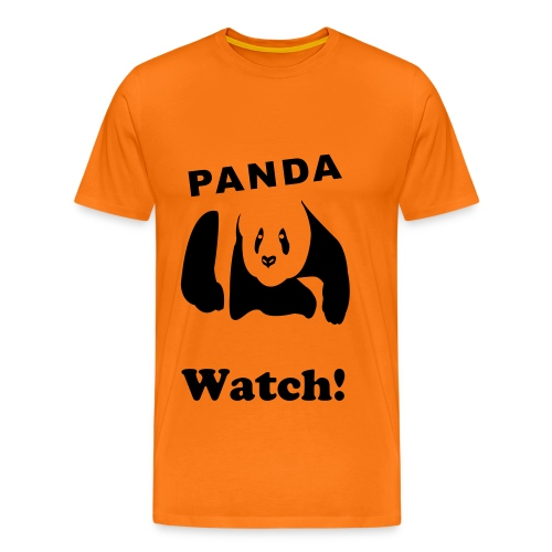Panda Watch! - Men's Premium T-Shirt