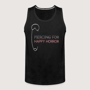 PIERCING for HAPPY HORROR | Männer Muskelshirt - Männer Premium Tank Top