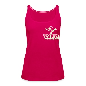 T-SHIRT TAHITI  MANTA - Women's Premium Tank Top