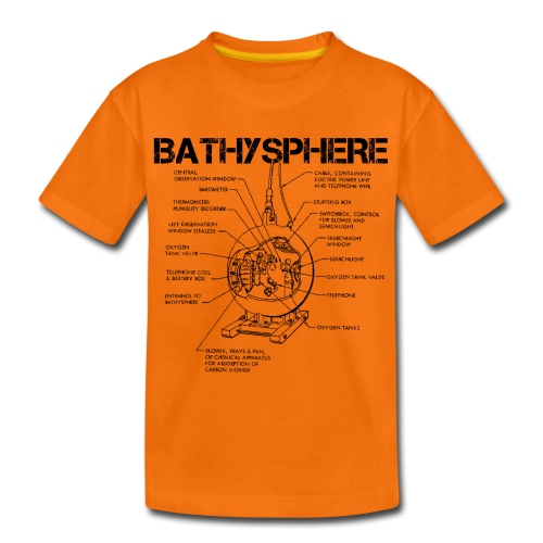 Bathysphere - Teenage Premium T-Shirt