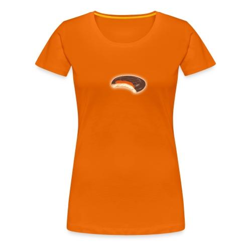 Jaffa Bite Basic Women's T-shirt - Squidgy Orange - Women's Premium T-Shirt