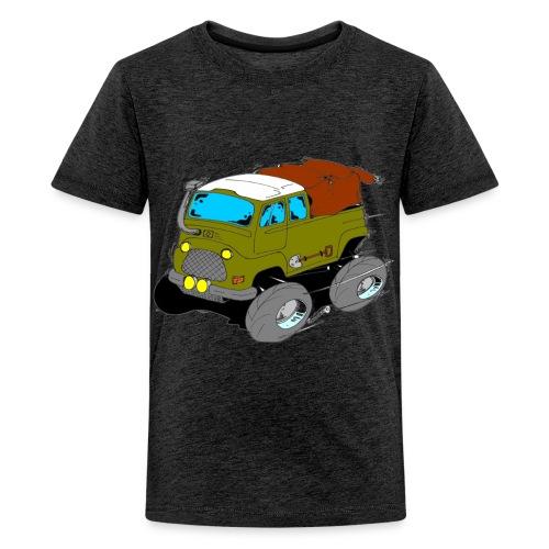 L'estafette de Raid à Donf ! - T-shirt Premium Ado