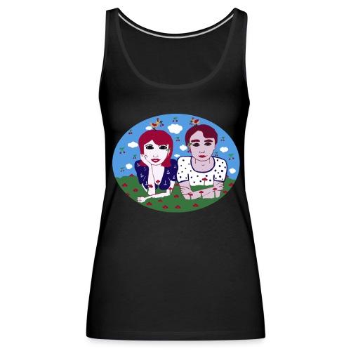 I want the cherry - Frauen Premium Tank Top