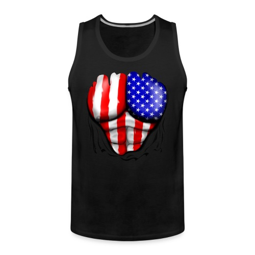 shirt show muscle american muscle - Canotta premium da uomo