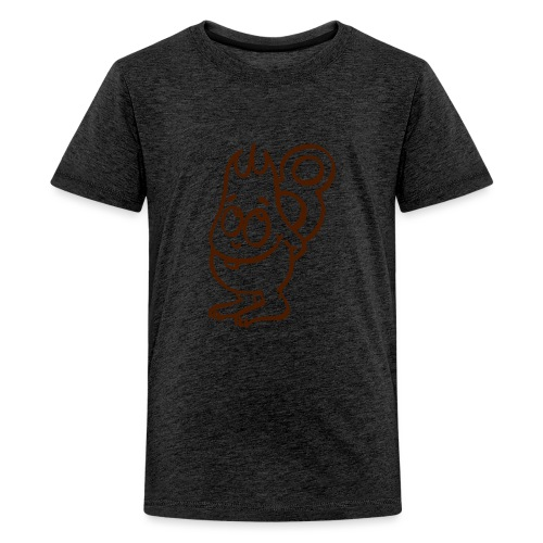 Achter - Teenager Premium T-Shirt
