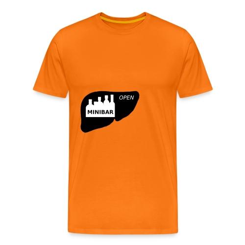 Minibar statt Leber - Männer Premium T-Shirt