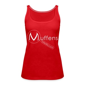 Muffens Media singlet: Red - Women's Premium Tank Top