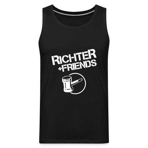 RICHTER+FRIENDS - Muscle, black - Männer Premium Tank Top