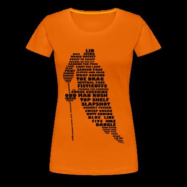 Language of Hockey (Black) T-Shirts