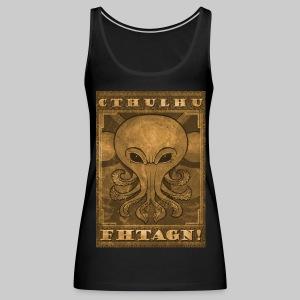 WTT: Cthulhu Fhtagn - Women's Premium Tank Top