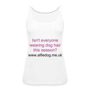 Dog hair - Women's Premium Tank Top