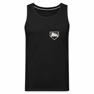 Panssarintorjuntamies - Miesten premium hihaton paita