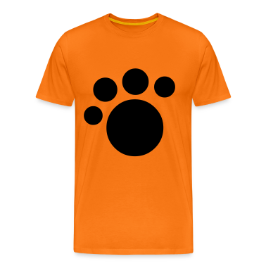 kids paw print T-Shirts