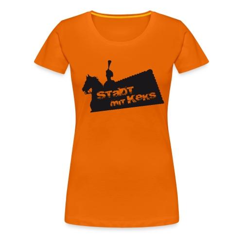 Hannover - Keks - Girl - Frauen Premium T-Shirt
