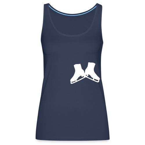 Tir - 2 patines uni - Camiseta de tirantes premium mujer