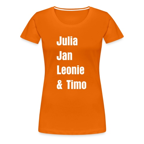 Julia & Jan - Frauen Premium T-Shirt