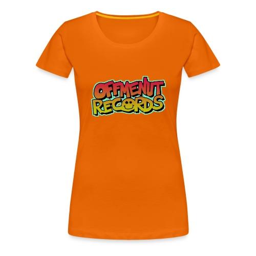 OFF ME NUT LOGO WOMENS T-SHIRT - Women's Premium T-Shirt