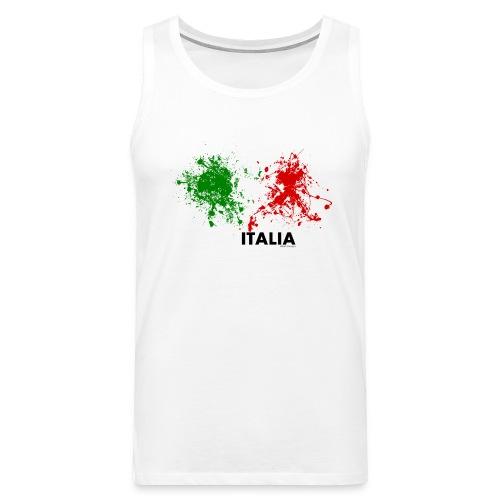 Flag Italy - Canotta premium da uomo