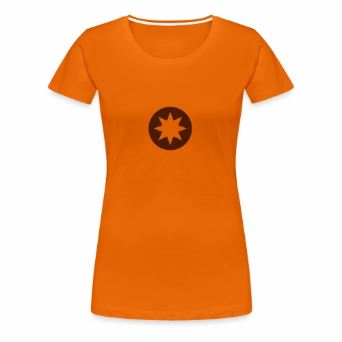 Kompass / Stern - Frauen Premium T-Shirt