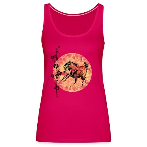 Frauen Premium Tank Top - Pferdelandia,Pferde, T-Shirt ! Frauen Pferde T-Shirt  von Pferdelandia hat schicke , leuchtete Farben ! Sehr hochwertig verarbeitet.