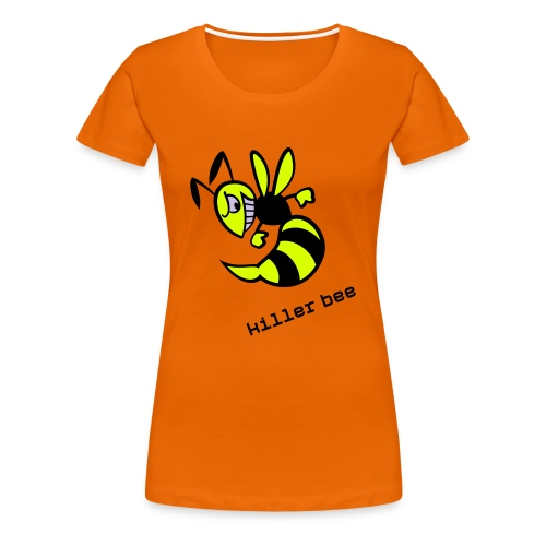 killer bee - Frauen Premium T-Shirt