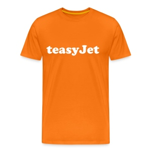 teasyjet orange - Men's Premium T-Shirt