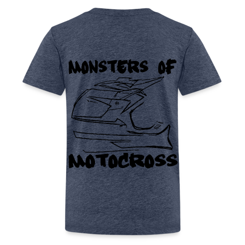 Monsters of Motocross No.4 - Teenager Premium T-Shirt