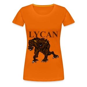 T shirt femme lycan - T-shirt Premium Femme