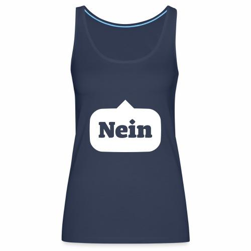 Nein / No - Frauen Premium Tank Top