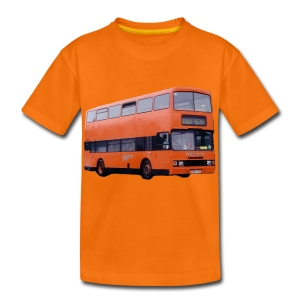Strathclyde Bus - Teenage Premium T-Shirt