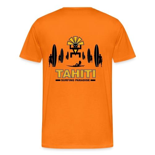 tahiti surfing tee shirt - Men's Premium T-Shirt