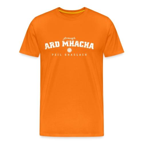 Vintage Armagh Gaelic Football T-Shirt - Men's Premium T-Shirt